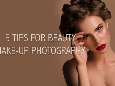 5 Tips for Beauty Makeup Photography