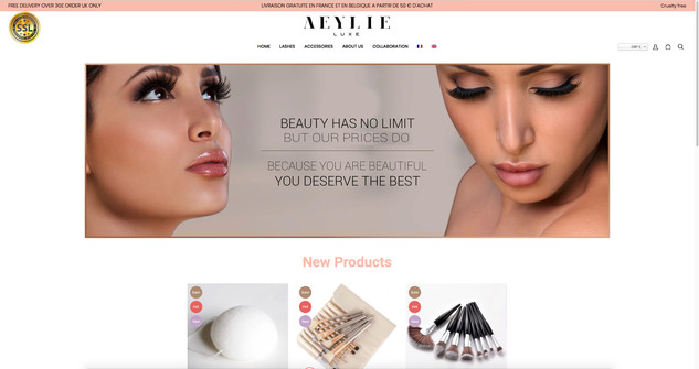 Aelye Lashes Campaign