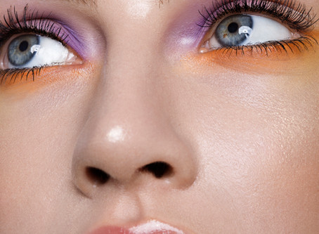How to add lashes in Photoshop