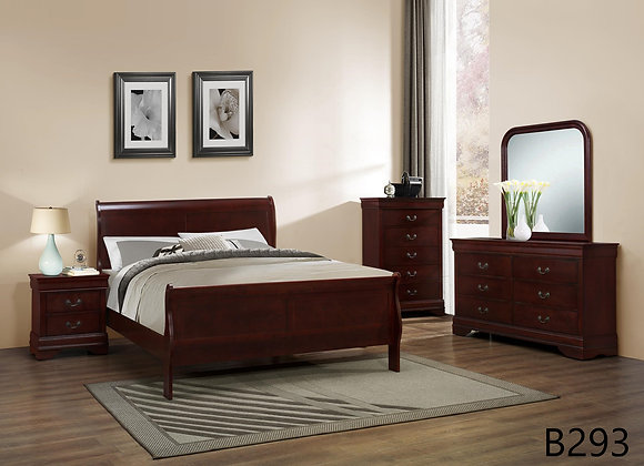 LOUIE PHILLIPE CHERRY BED