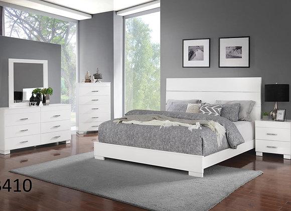 OCEAN WHITE BED