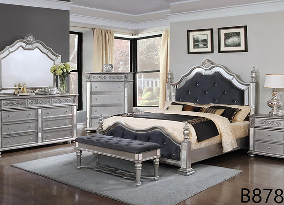 ASHEN SILVER BED