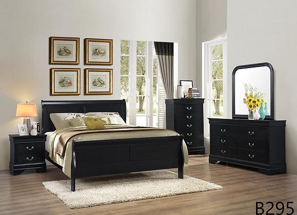 LOUIE PHILLIPE BLACK BED