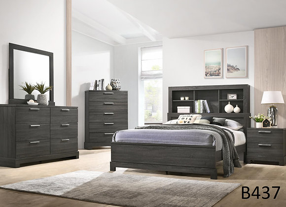 STORAGE GRAY BED