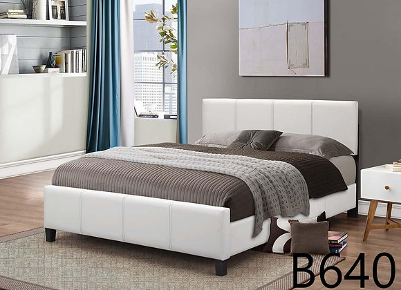 WHITE BASEBALL STITCH BED