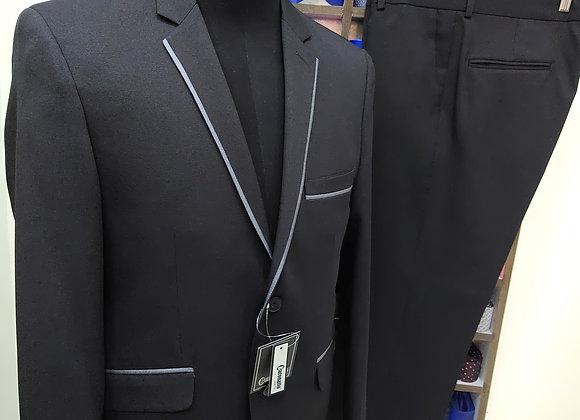 Vestido linoflex negro diseño