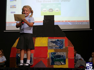 """Year 2 Assembly on """"Buildings & Structures"""""""