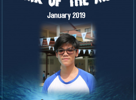 January 2019 - Shark of the Month