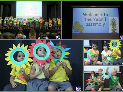 Year 1 hosted our first Primary Assembly this term