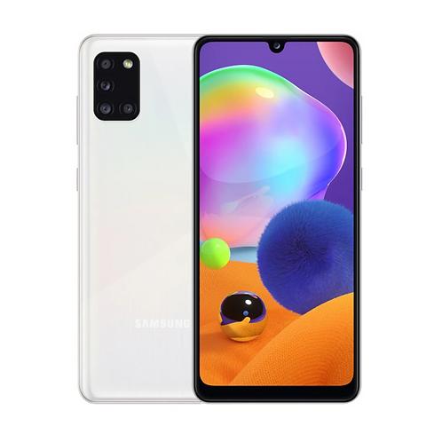 "Смартфон Samsung Galaxy A31 4/64Gb: 6.4""  БЕЛЫЙ 5000mAh"