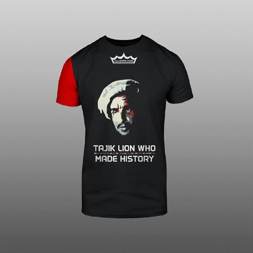 Футболка TAJ SPORT TEAM / TAJIK LION WHO MADE HISTORY