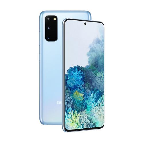"Смартфон Samsung Galaxy S20 8/128Gb: 6.2 "" Blue 4000 mAh"