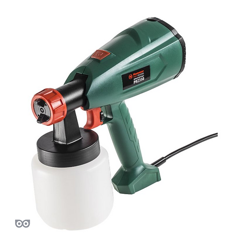 Краскопульт Hammer Flex PRZ350 350Вт 0-700 мл/мин 800мл вязкость 60 DIN