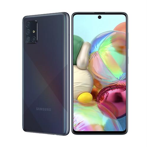"Смартфон Samsung Galaxy A71   6/128Gb 6.7 "" Black  4500 mAh"