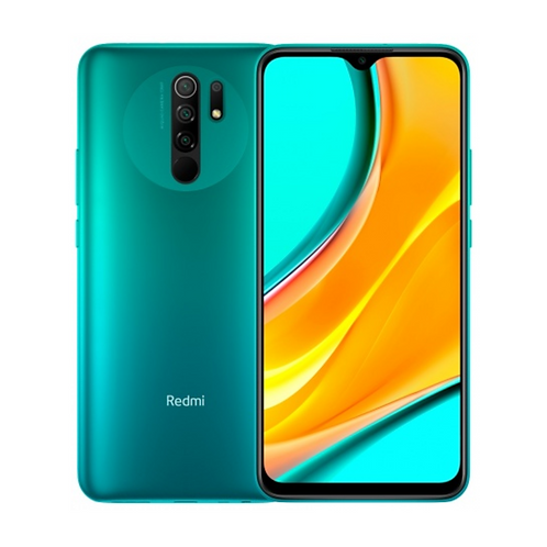 Смартфон Xiaomi Redmi 9 4/64Gb green +NFC 5020 mAh