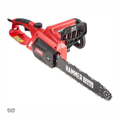 Пила цепная Hammer CPP1814E 1800Вт.7000об/мин.шина 14''.цепь 3/8''-1.3мм-52