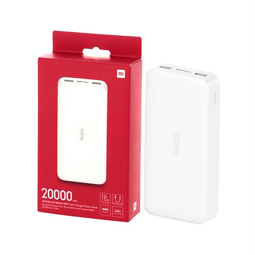 Внешний аккумулятор Xiaomi Redmi Power Bank 20000mAh