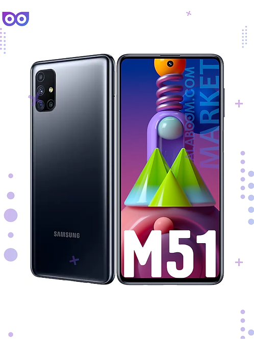 Смартфон Samsung Galaxy M51 128GB Black Черный