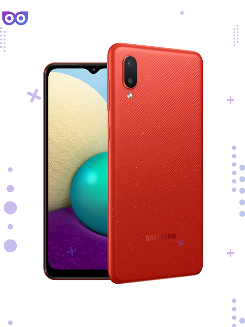 Смартфон Samsung Galaxy A02 32GB Red Красный