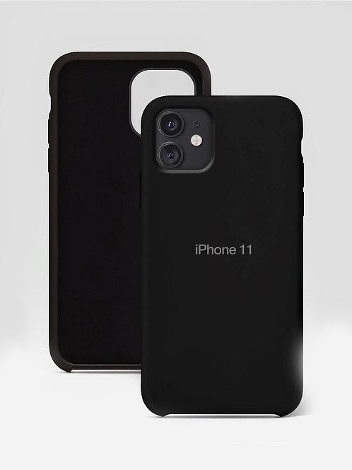 Силиконовый чехол на айфон 11 Премиум / Silicone Case для iPhone 11 Premium