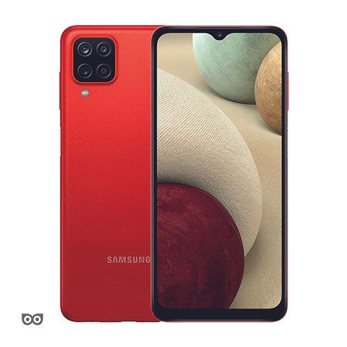 Смартфон Samsung Galaxy A12 4/64 ГБ  КРАСНЫЙ 5000 мА·ч