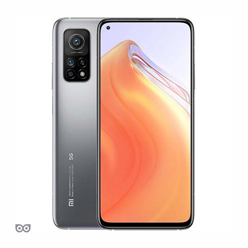 Смартфон Xiaomi Mi 10T 8/128 ГБ СЕРЕБРИСТЫЙ 5000 мАч