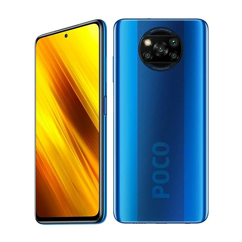 Смартфон XIAOMI Poco X3 6/64Gb, синий 5160 мAч