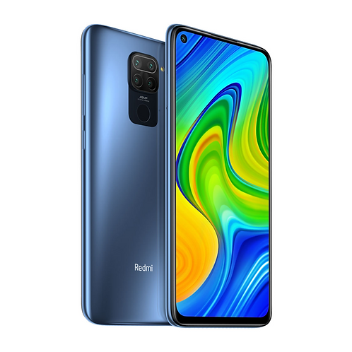 Смартфон Xiaomi Redmi Note 9 3/64Gb СЕРЫЙ 5020mAh +NFC