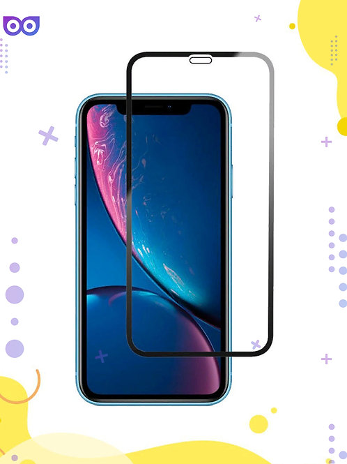 Защитное стекло для iPhone 11 / на Айфон XR / 10R / ХР полноэкранное/полноклеево