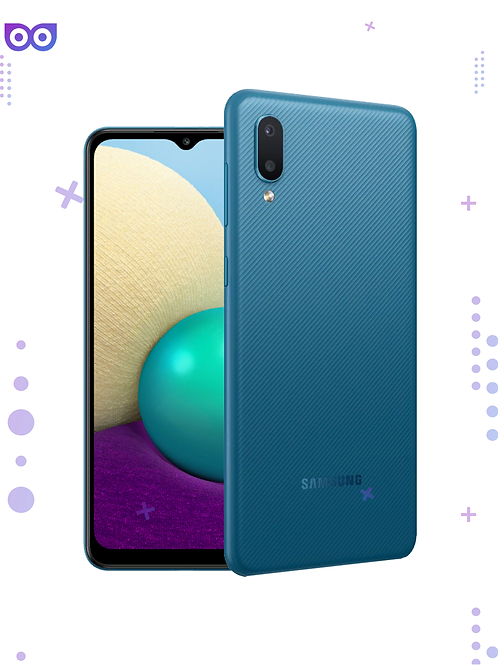Смартфон Samsung Galaxy A02 32GB Синий Blue