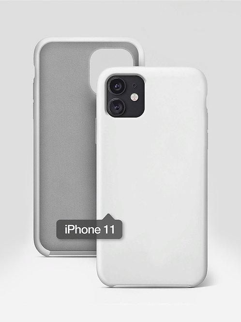 Силиконовый чехол на айфон 11 Премиум / Silicone Case для iPhone 11 Premiu