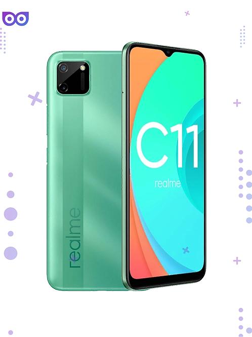 Смартфон Realme C11 2/32GB мятный зеленый 5000 мАч