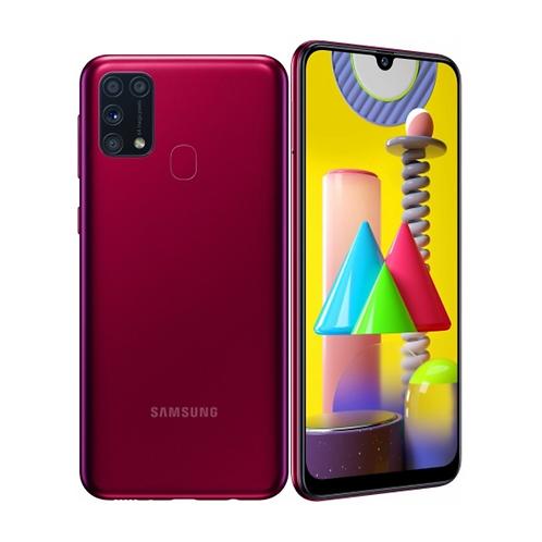 "Смартфон Samsung Galaxy M31 6Gb/128Gb: 6.4"" Red 6000mAh"
