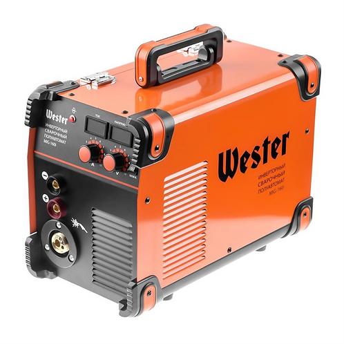 Сварочный полуавтомат инверторный WESTER MIG-160i MIG/MAG/MMA 40-160A 0.6-1.2 мм