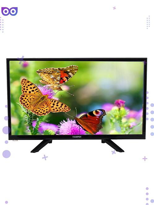 """Телевизор Harper 24R575T (2020), черный 24"""" (61 см)"""