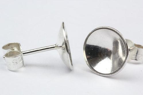 Classic Polished Stud Earrings