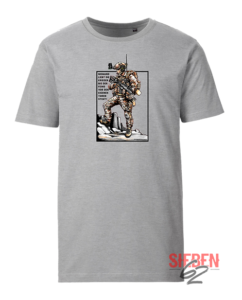 """NIEMAND LIEBT DIE KRIEGER"" Shirt"