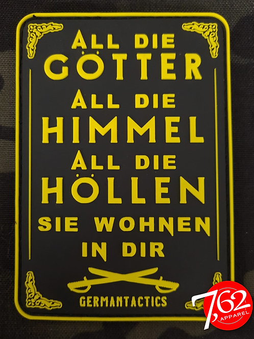 """ALL DIE GÖTTER 4"" Rubber-Patch"