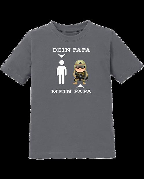 Dein Papa vs. Mein Papa Kids Shirt