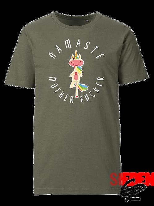 """""""NAMASTE` MOTHER F**KER"""" Shirt"""