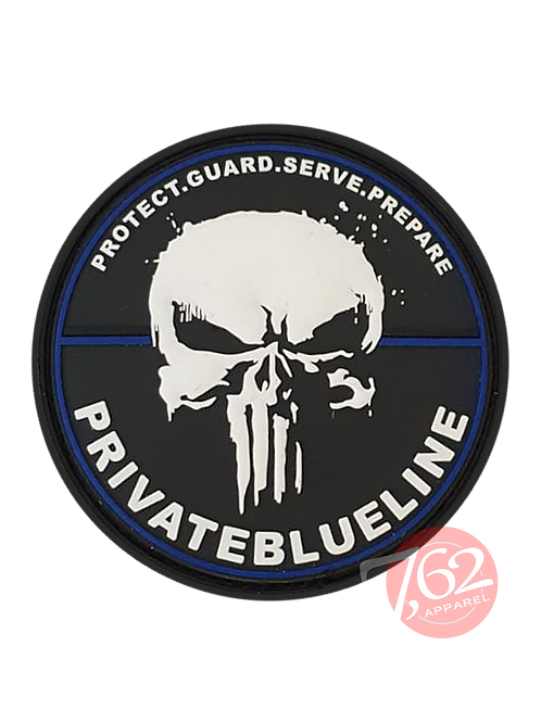 """PrivateBlueLine"" Rubber-Patch"