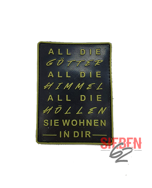"""ALL DIE GÖTTER"" Rubber-Patch"