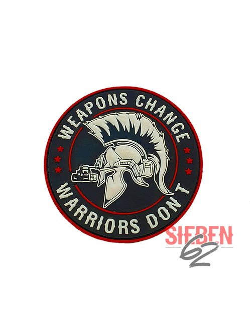 """WARRIORS"" Rubber-Patch"