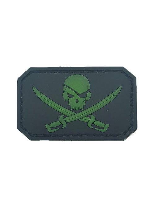 """Jolly Roger"" Glow Patch"