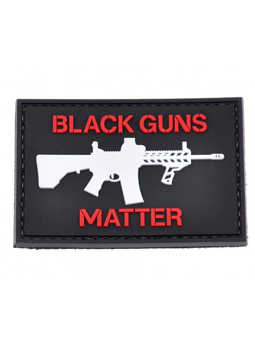 """Black Guns Matter"" Patch"