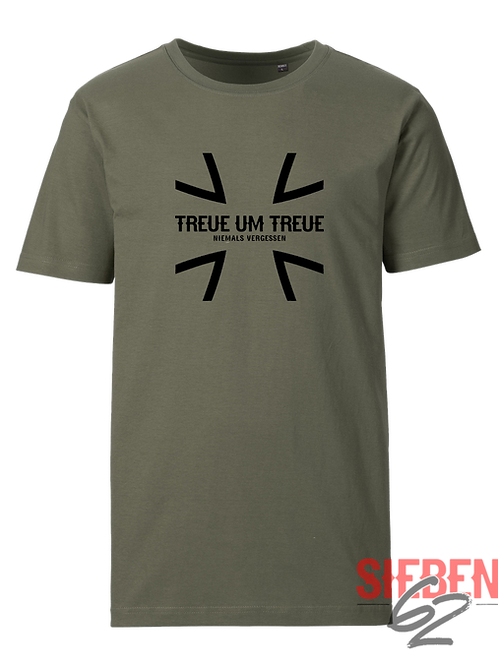 """TREUE UM TREUE - EISERNES KREUZ"" Shirt"