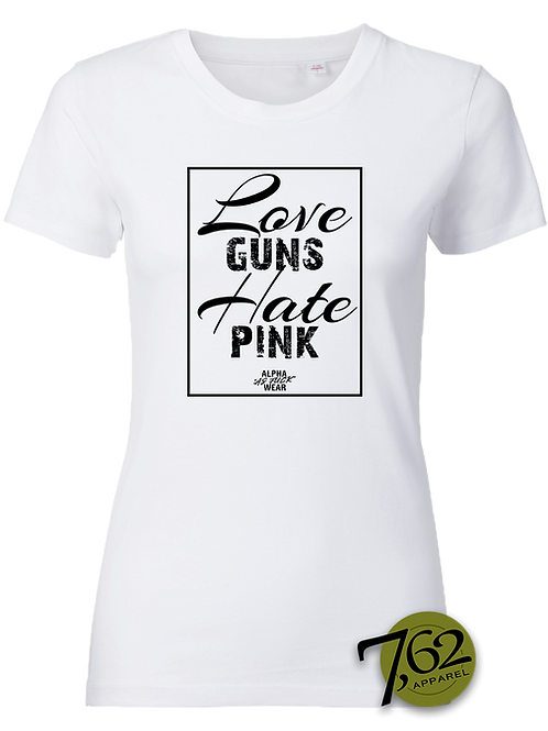 """GT GIRLS LOVE GUNS"" Shirt"