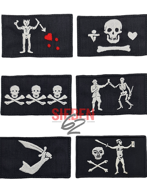 """JOLLY ROGER COLLECTION"" Patches"