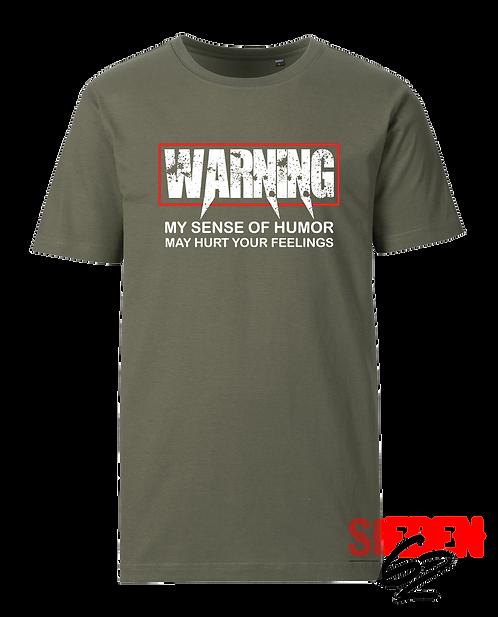 """""""WARNING"""" Shirt"""