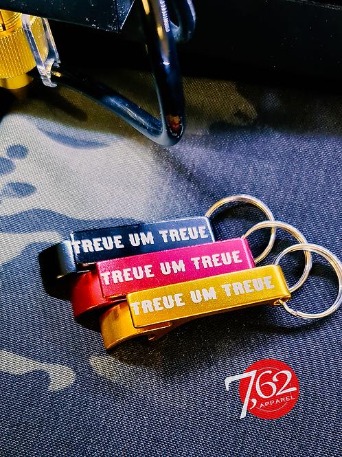 """""""GT TREUE UM TREUE"""" Flaschenöffner"""